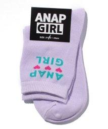 ANAP GiRL/ロゴハートソックス/500520256