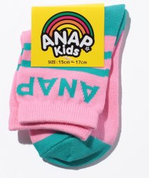 ANAP KIDS/バイカラー SOX/500520266