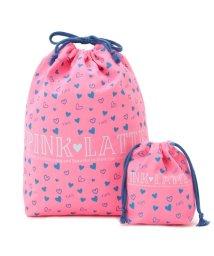 PINK-latte/ハート大小巾着セット/500544927
