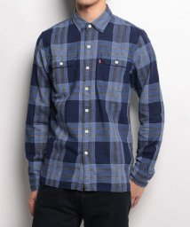 LEVI'S MEN/JACKSON WORKER BANDOLA INDIGO PLAID/500535836