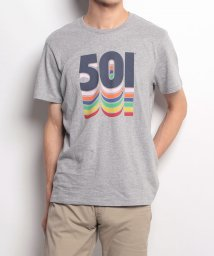 LEVI'S MEN/501(R) GRAPHIC TEE 501 FILLED MIDTONE GR/500535842