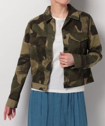 LEVI'S LADY/LMC CROP MILITARY JACKET CAMO/500535870