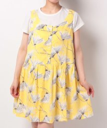 LEVI'S LADY/CHRISSIE DRESS TIMPANI LEMON ZEST PRINT/500535871