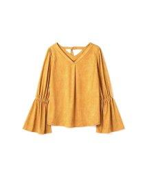 PROPORTION BODY DRESSING/《BLANCHIC》フェイクスエードブラウス/500552166