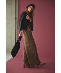 PROPORTION BODY DRESSING/《BLANCHIC》グレンチェックワイドパンツ/500552170