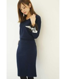 PROPORTION BODY DRESSING/ファースカーフスリーブ ニットセットアップ/500552171