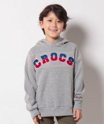 crocs(KIDS WEAR)/CROCSネップ裏毛パーカー/500514260