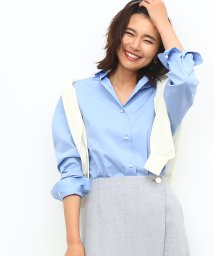 ROPE'(TALL SIZE)/【トールサイズ】カフス刺繍入りシャツ/500522566