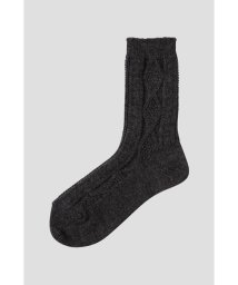 MARGARET HOWELL/WOOL CABLE SOCK/500556677