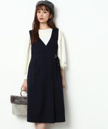 ViS/ラップジャンパースカート/500556787