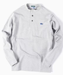 "SHIPS MEN/LACOSTE(ラコステ):【SHIPS別注】""THERMO LITE(R)"" ヘンリーネック Tシャツ/500559329"
