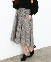 ViS/【sweet×ViSコラボ】ベルト付きフィッシュテールスカート/500522499