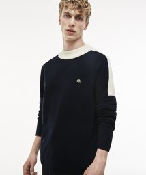 LACOSTE Mens/『MadeinFrance』カラーブロック袖セーター/500526323