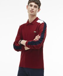 LACOSTE Mens/『MadeinFrance』カラーブロックポロシャツ(長袖)/500526342