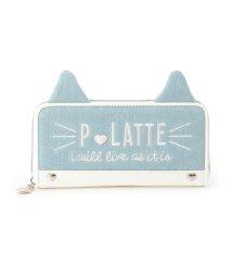 PINK-latte/ネコ耳長財布/500560048