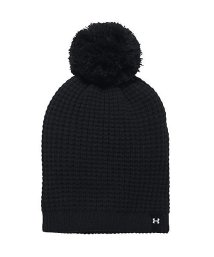 UNDER ARMOUR/アンダーアーマー/レディス/UA FAVORITE WAFFLE POM BEANIE/500561517