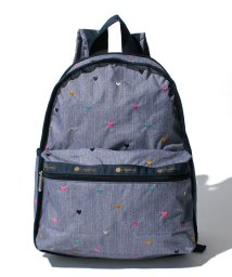 LeSportsac/BASIC BACKPACK デニムハート/LS0019111