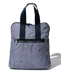 LeSportsac/EVERYDAY BACKPACK デニムハート/LS0019115
