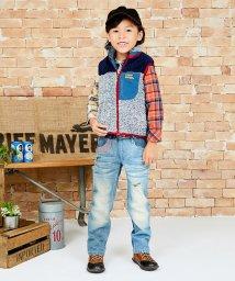 KRIFF MAYER(Kids)/シャギーボアベスト/500543236