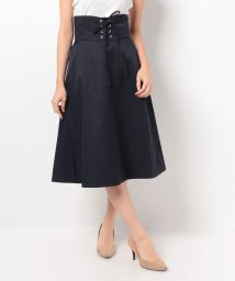 UNIVERVAL MUSE/コルセットベルト付きスカート/500548238