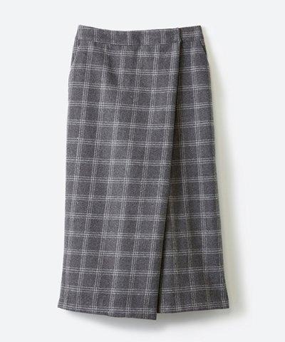 【haco!(ハコ)】スカート気分ではけて動きやすい 大人チェックスカーチョ