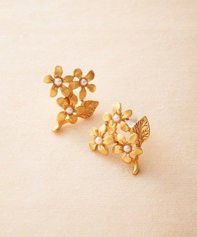 【haco!(ハコ)】大人かわいい お花のピアス&イヤリング