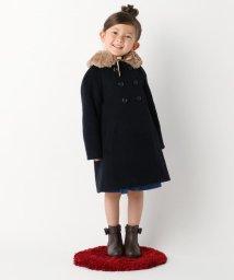 KUMIKYOKU KIDS/【TODDLER】イタリアンウール コート/500565147