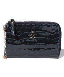 LANVIN en Bleu/マゼンダ 小銭+パスケース 481684/LB0004336