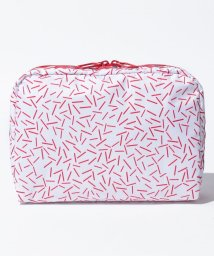 LeSportsac/EXTRA LARGE RECTANGULAR COSMETIC 30th スプリンクルズ/LS0019121