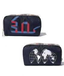 LeSportsac/RECTANGULAR COSMETIC 30th ネイビー/LS0019125