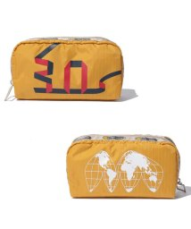 LeSportsac/RECTANGULAR COSMETIC 30th ゴールド/LS0019127