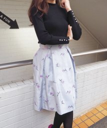 31 Sons de mode/【美人百花1月号掲載/Ray12月号掲載】シャンタン刺繍スカート/500564632