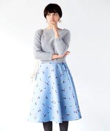 31 Sons de mode/【美人百花12月号】小花柄フレアスカート/500564633