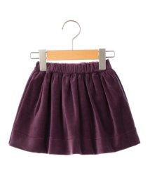 SHIPS KIDS/SHIPS KIDS:ベロア ギャザー スカート/500565806