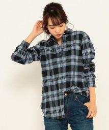 NIJYUSANKU/【WEB限定カラー&洗える!】CANCLINI ファインメルトン チェックシャツ/500567117