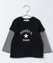 agnes b. ENFANT/SBD5 L SWEAT Tシャツ/500533947