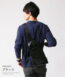 THE CASUAL/ボディバッグ バッグ 鞄 本革風 PUレザー ワンショルダー ボディバッグ Buyer's Select バイヤーズセレクト/500563492