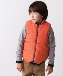 SHIPS KIDS/SHIPS KIDS:リバーシブル ダウンベスト(100~130cm)/500567160