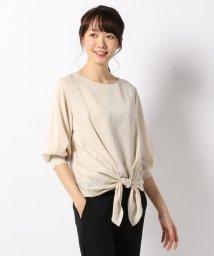 JIYU-KU /【洗える】ニット×シャツコンビ プルオーバーII /500568470