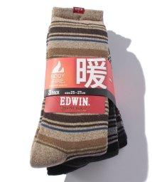 JNSJNM/【EDWIN】BODY FIRE 3足組みソックス/500544450