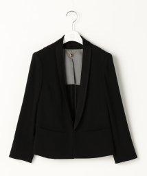 Ravissant Laviere/バックサテン衿取り外しジャケット/500559393