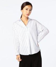 NOLLEY'S/ダブルストライプビックシャツ/500559398