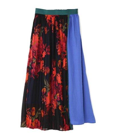 【ROSE BUD(ローズバッド)】プリーツ切り替えスカート