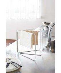 YAMAZAKI/折り畳み布巾ハンガー プレート ホワイト/500547483