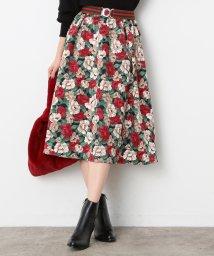ViS/【sweet×ViS】フラワープリントスカート/500572138