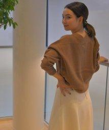 ICB(LARGE SIZE)/Wool Stretch ニット/500572310
