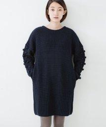 haco!/パプコーン編みがかわいい おしゃれニットワンピ/500477819
