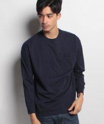 JNSJNM/【BLUE STANDARD】ビッグシルエットロングスリーブTシャツ/500544697