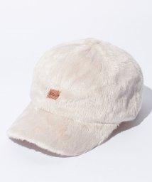 LAGOM/おやつ刺繍ファーキャップ/500551577