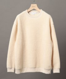 BEAUTY&YOUTH UNITED ARROWS/BY ウォッシャブル ボア スウェット/500573301